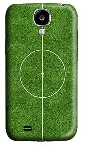 Center Football Pitch DIY Custom PC Hard Case for Samsung Galaxy S4 / I9500