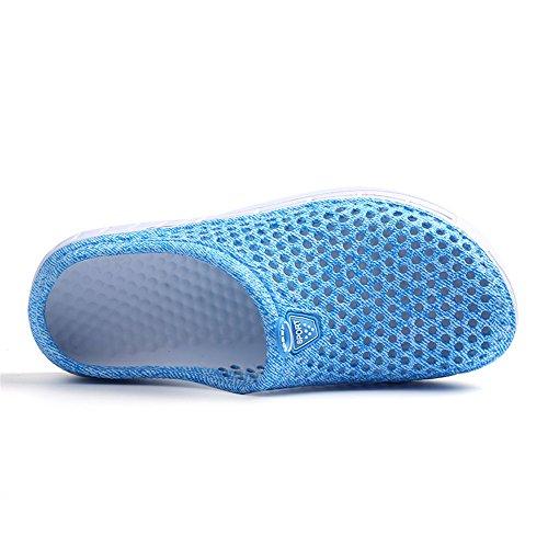 Leichte Quick Dry Garten Sandalen Wasser Blue Hausschuhe Damen Sommer 1611 Schuhe Herren FZDX Schuhe XwIgA8nq