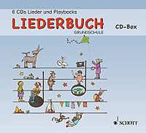 Liederbuch Grundschule: Lehrer-CD-Box. 6 CDs.