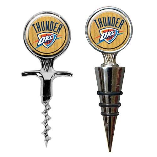NBA Oklahoma City Thunder Cork Screw and Wine Bottle Topper