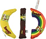 YEOWWW! CATNIP TOY VARIETY PACK ★ CIGAR & BANANA & RAINBOW ★ MADE IN USA For Sale
