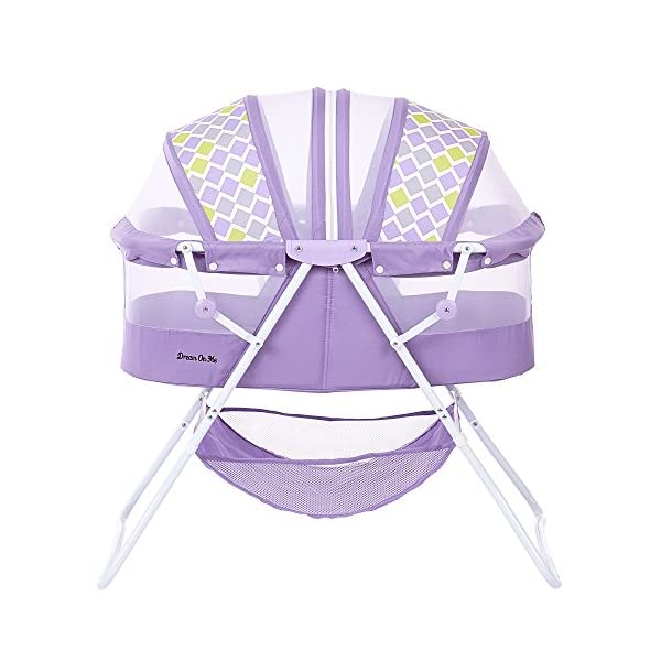 Dream On Me Karley Bassinet, Periwinkle