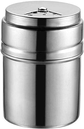 Spice Bottle Portable Stainless Steel Kitchen Gadget Seasoning Spice Shaker Condiment Dispenser Organizer Jar Medium