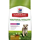 Hill's Science Diet Senior Dog Food, Adult 7+ Small & Toy Breed Youthful Vitality Chicken & Rice Recipe Dry Dog Food, 3.5 lb Bag