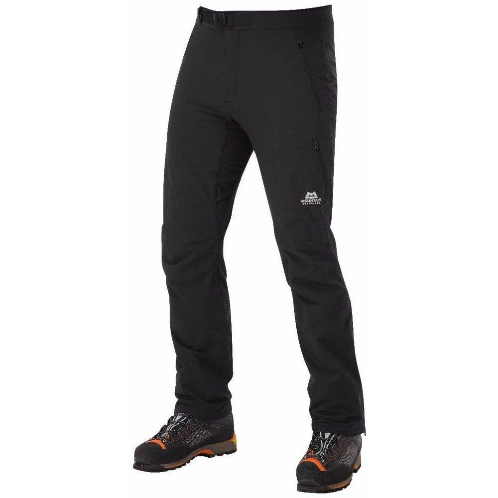 Mountain Equipment Hombres del Ibex Short–Pantalón Impermeable, Color Negro, tamaño 30