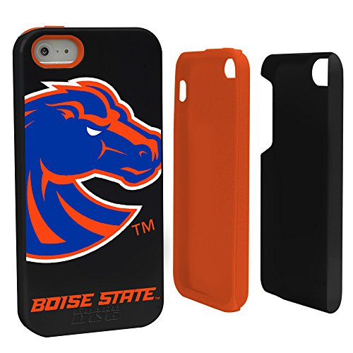 (Guard Dog NCAA Boise State Broncos Hybrid Case for iPhone 5/5s, Black, One Size )