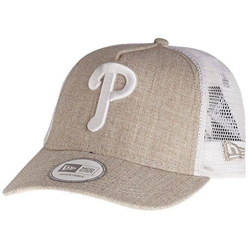 New Era Trucker Cap - HEATHER Philadelphia Phillies beige