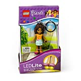 LEGO Friends Andrea Keychain with LED Light, 2.75-Inch