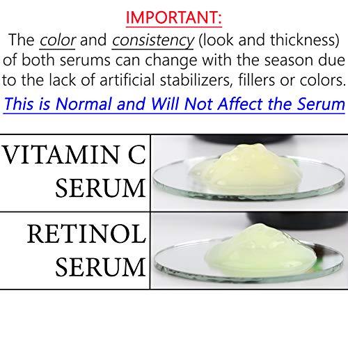Serum Combo Pack - Vitamin C Serum, Retinol Serum
