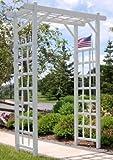 Dura-Trel 11199 Elmwood Arbor, White