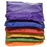 Fun Express - Educational - Dozen 5in Assorted Nylon Bean Bags Toy