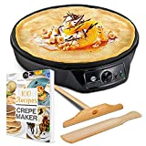 G&M Kitchen Essentials Crepe Maker Machine Image