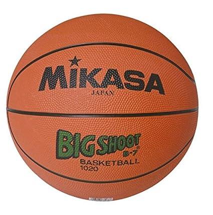 Mikasa B-7 Balón Baloncesto GOMA Naranja Talla 7: Amazon.es ...