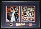 Midway Memorabilia pmanning-2photo-50 Peyton Manning Denver Broncos Superbowl 50 - 2 Photo Frame