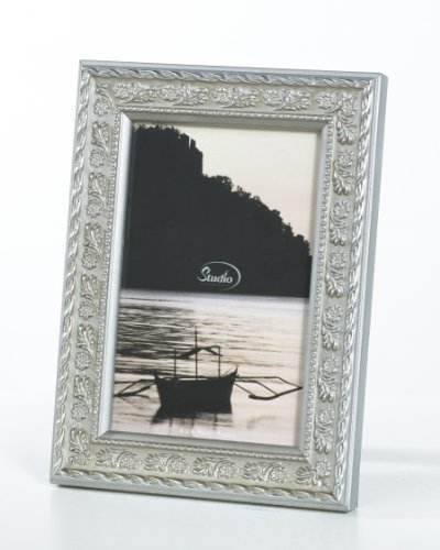 5X7 SILVER FLORAL FRAME - 5X7 SILVER FLORAL PICTURE FRAME - Picture Frame