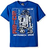 Star Wars Big Boys' R2d2 Astromech Droid Graphic Tee