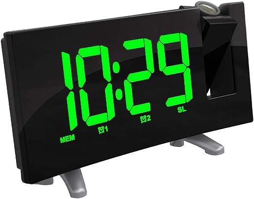 non-brand Radio FM Reloj Despertador LED Digital Mesa Electrónica ...