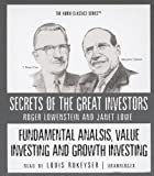 img - for Fundamental Analysis, Value Investing and Growth Investing (Secrets of the Great Investors) book / textbook / text book