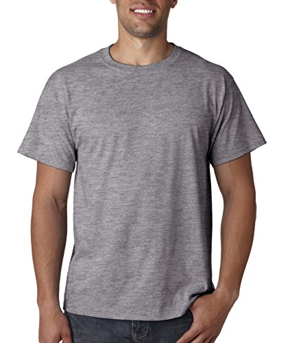 Fruit Of The Loom Athletic Jersey (Fruit of the Loom Men's Short Sleeve Crew Tee, XX-Large  - Athletic Heather)