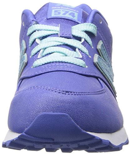 New Balance Classic Traditional Purple Youths Trainers Purple