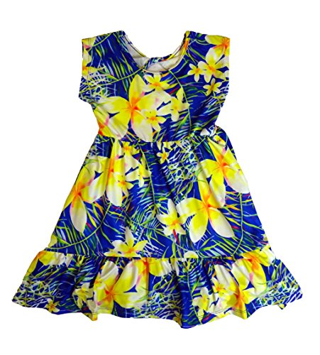Maui Clothing Infant/Toddler Beverly Plumeria SundDress (12 Months)