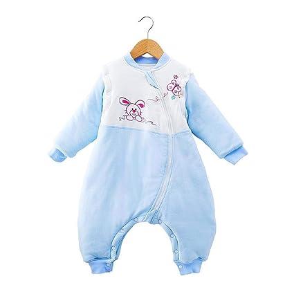 Gleecare Saco de Dormir para bebé,Otoño e Invierno de algodón Peinado Grueso y cálido
