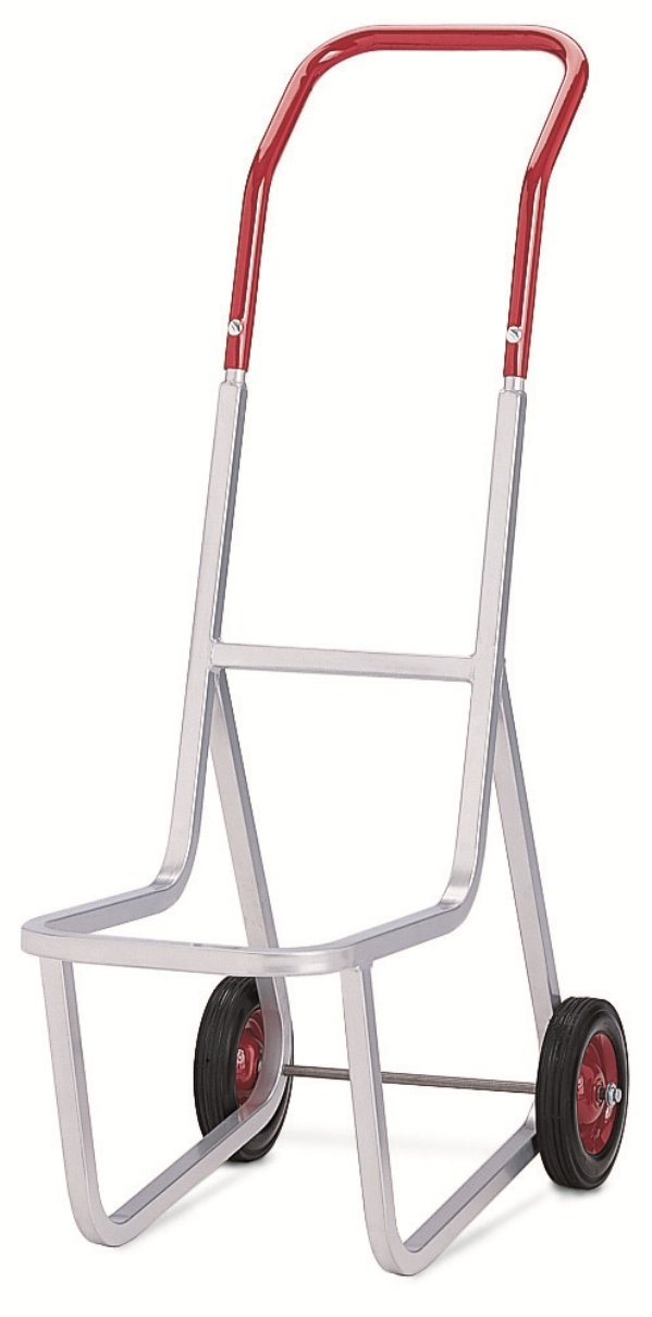 Raymond 500 Stacked Chair Dolly with 8'' x 1-3/4'' Skid-Resistant Rubber Wheel, 240 lbs Capacity, 14-1/2'' Width x 48'' Height x 33-1/2'' Depth