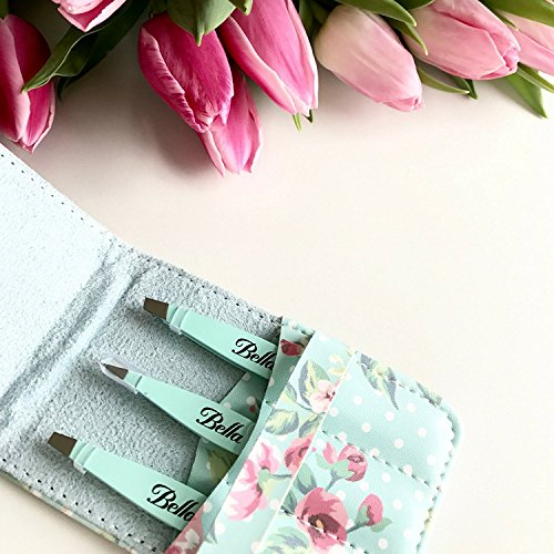 Eyebrow Tweezers by Bella and Bear - The Tweezers Set for Professional Shaping by Bella and Bear (Image #2)