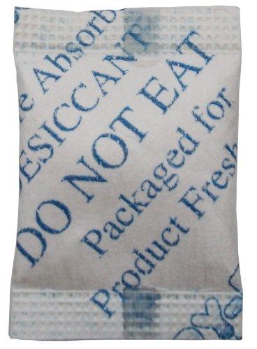 Dry-Packs 1/2gm Cotton Silica Gel Packet, Pack of 50