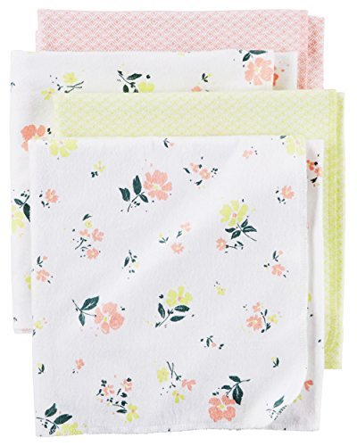 Floral Receiving Blankets (Carter's Baby Girls' Receiving Blankets D06g003, Print, One Size)