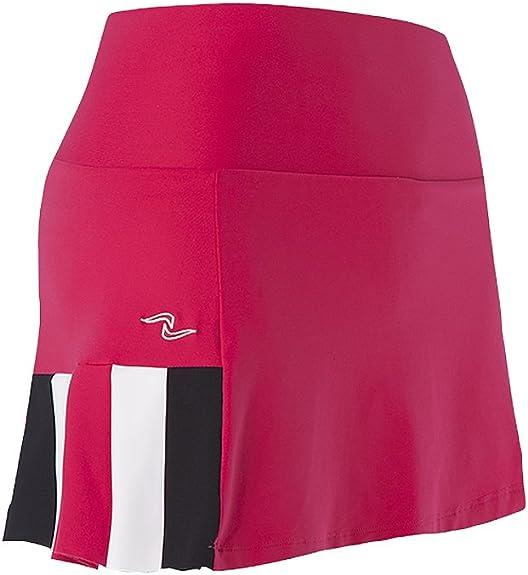 Naffta Tenis Padel - Falda-pantalón para Mujer, Color borgoña ...