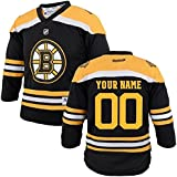Custom Youth Hockey Jersey - Black (Youth (L/XL))