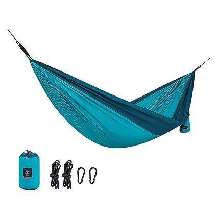 HW Hamaca para Acampar, Hamaca Al Aire Libre Prevención De Vuelco Individual Niños Adultos Silla para Acampar Dormitorio Compartido Dormitorio Columpio ...