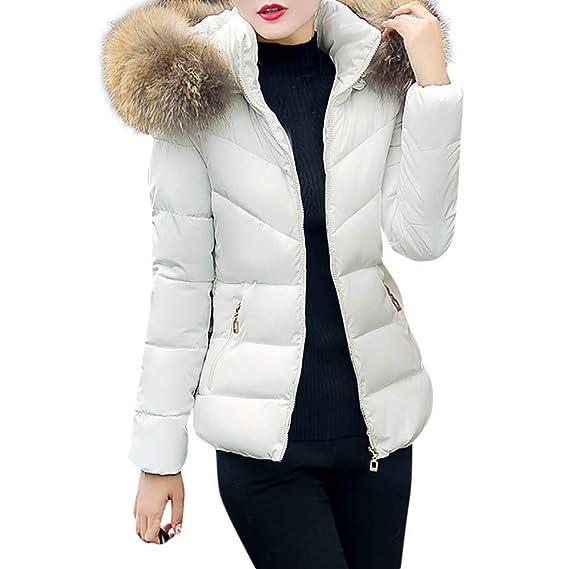 Winterjacke Wintermantel Damen Kurz Daunenjacke Jacke ARjL354q