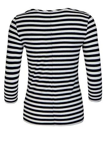 Tommy Hilfiger 3/4 Arm Shirt New Jada Rundhals Ringel Dunkelblau/Ecru Größe  XS: Amazon.de: Bekleidung