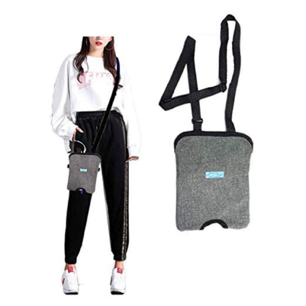 Urinary Catheter Bag Ostomy Bag Holder,Incontinence Kit,Bladder Ostomy Elderly Drainage Bag Care Package with Adjustable Shoulder Strap for Home,Travel,Wheelchair,Bed,1500ML