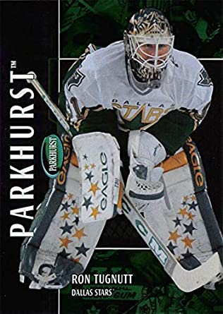 2002-03 Parkhurst Hockey Card  143 Ron Tugnutt Dallas Stars Official ITG In  The d2e5cf68f