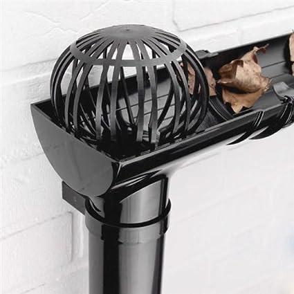 2x Gutter Downpipe Balloon Guard Filters Stops Leaves Blockage Debris Down Pipe Shopmonk by zizzi
