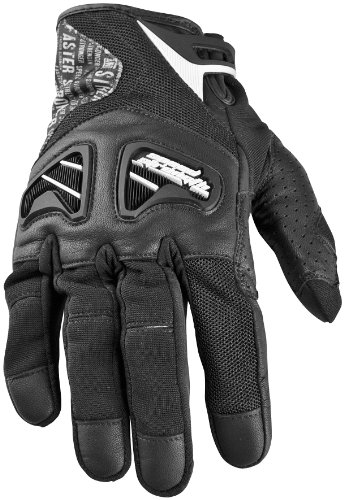 Textile Suzuki Rocket Joe (Speed & Strength Run With The Bulls Leather and Textile Gloves , Distinct Name: Black, Primary Color: Black, Size: Sm, Gender: Mens/Unisex, Apparel Material: Textile 87-6365)