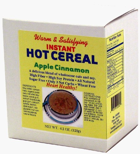 - Dixie Carb Counters Apple Cinnamon Instant Hot Cereal