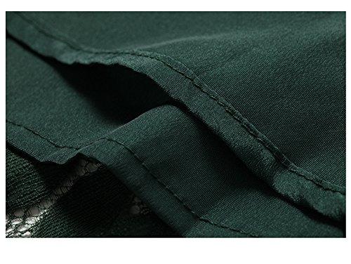 Valin 4 A Donna Vestito Verde 3 Manica Triangolo r6xqTtXr