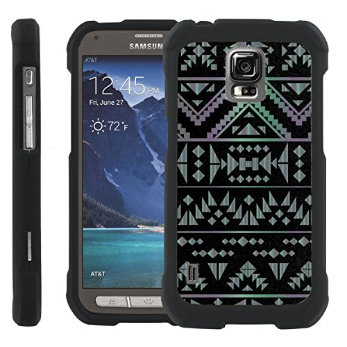 Black Tribal [SLIM FIT] Design Graphic Image Shell Cover Hard Case for Samsung Galaxy S5 Active G870A