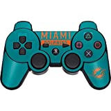 Skinit NFL Miami Dolphins PS3 Dual Shock wireless controller Skin - Miami Dolphins Teal Performance Series Design - Ultra Thin, Lightweight Vinyl Decal Protection
