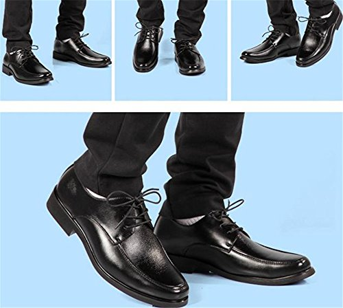 Men's Business Shoes To with Low Head The Help heeled Round Casual Shoes Black New nRxwEqH7S