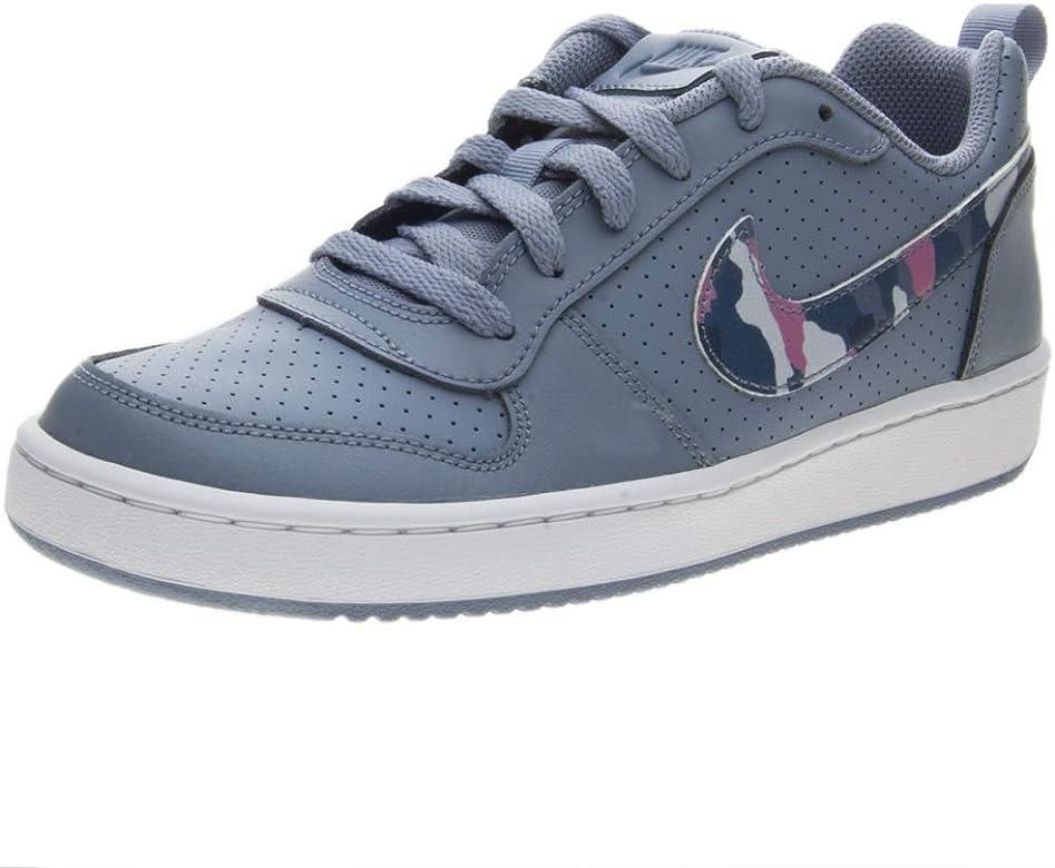 Nike Court Borough Low (GS), Zapatillas de Baloncesto para Niños, Multicolor (Ashen Slate/Multi-Color-Elemental Pink 402), 36.5 EU: Amazon.es: Zapatos y complementos
