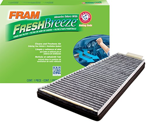 FRAM FCF8109A Fresh Breeze Cabin Air Filter with Arm & Hammer