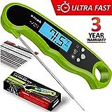 Best Instant Read Fork Digital Meat Thermometers - Digital Instant Read Meat Thermometer - Waterproof Kitchen Review