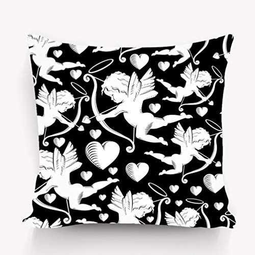 - zexuandiy Room Decor Throw Pillow Cushion Cover, Decorative Square Accent Pillow Case, 18 X 18 inches cdr Character