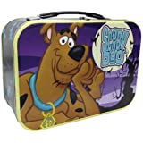 "WL SS-WL-23321 ""Scooby-Doo"" In Forest Design Collectible Tin Tote, 10"""