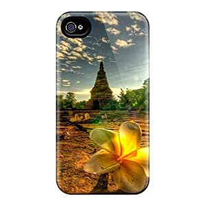 For TianMao Iphone Protective Case, High Quality For Iphone 4/4s Temple Site Scene Skin Case Cover